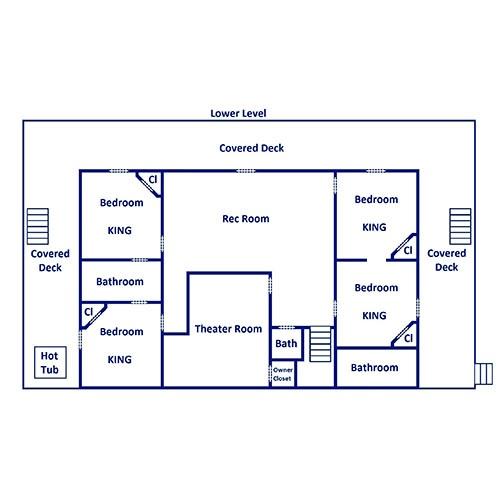 Bearskin Lodge - Lower Level
