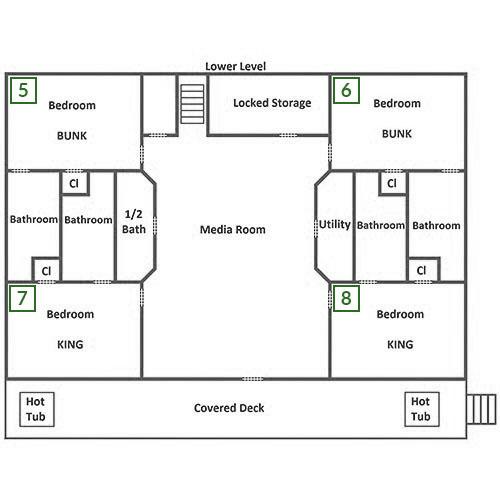 Buckskin Lodge - Lower Level