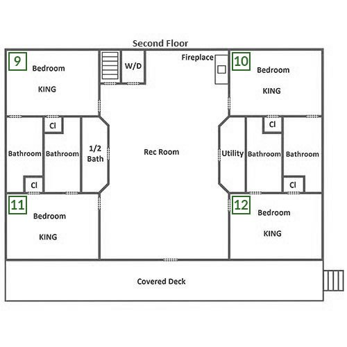 Buckskin Lodge - Second Level