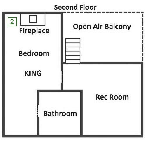 Camp David - Second Floor