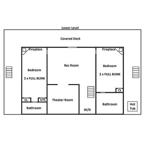 Cherokee Dream's Lodge - Lower Level