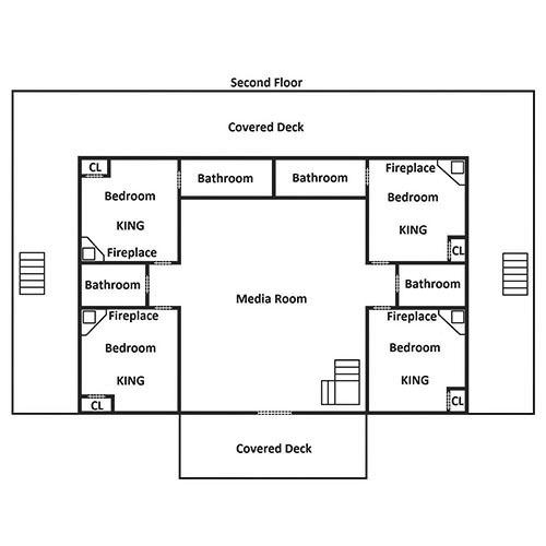 Cherokee Dream's Lodge - Second Floor