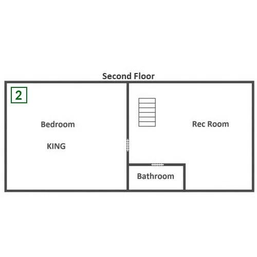 Cozy Cabin - Second Floor
