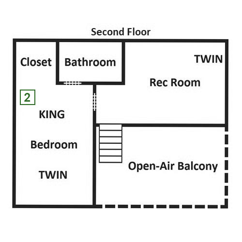 Dancing with the Stars - Second Floor