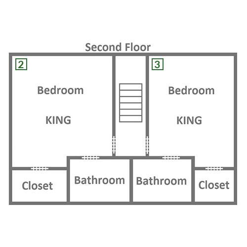 Elk Crossing - Second Floor