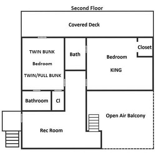 Fitzgerald's Shamrock Chalet - Second Floor