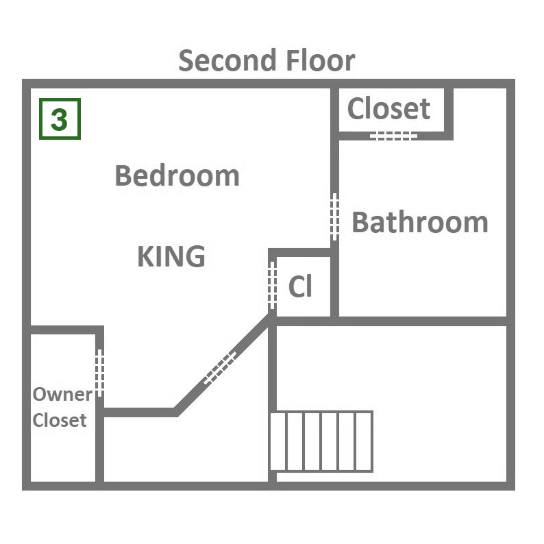 Gigi's Getaway - Second Floor