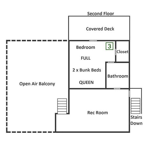 Hicky Splash Lodge - Second Floor