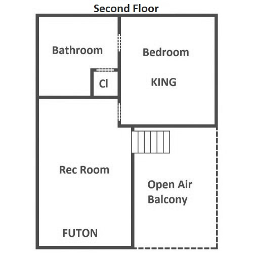 Hillside Escape - Second Floor