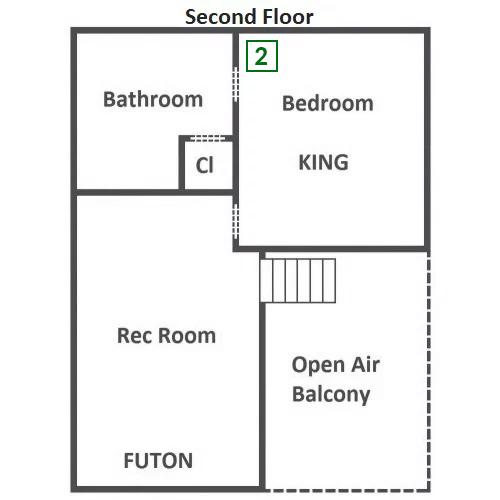Hillside Escape - Second Floor