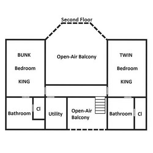 It's Good N Da Woods Lodge - Second Floor