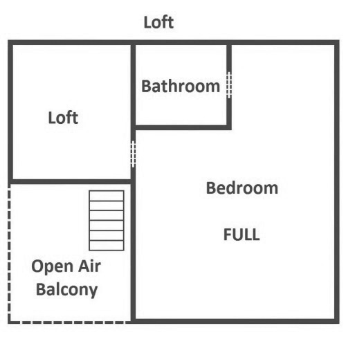 Jackson's Cabin - Loft