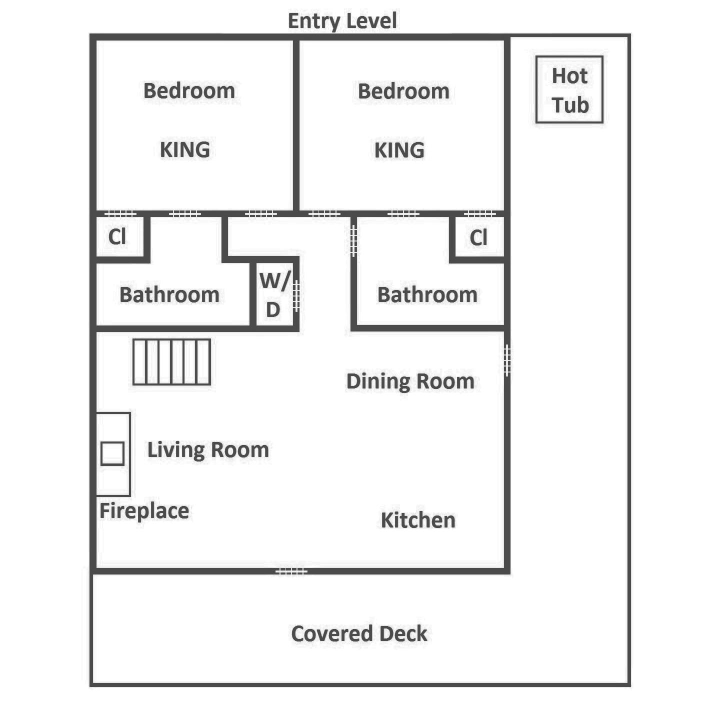 Keaton's Cozy Cabin - Entry Level