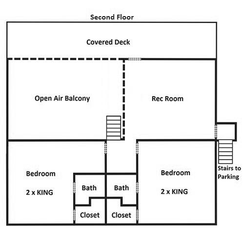 Keaton's Kabin - Second Floor