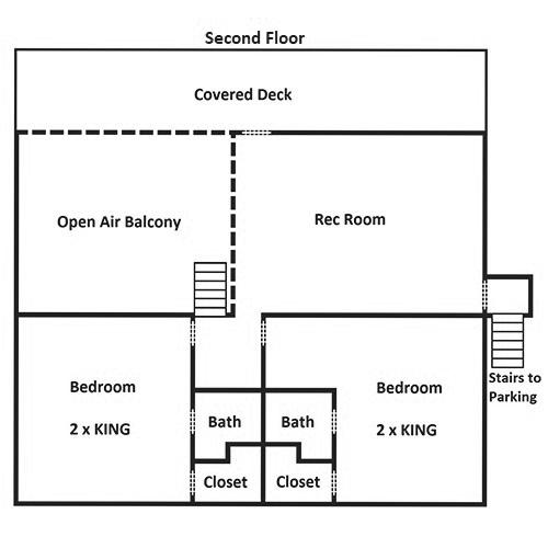 Keaton's Kottage - Second Floor