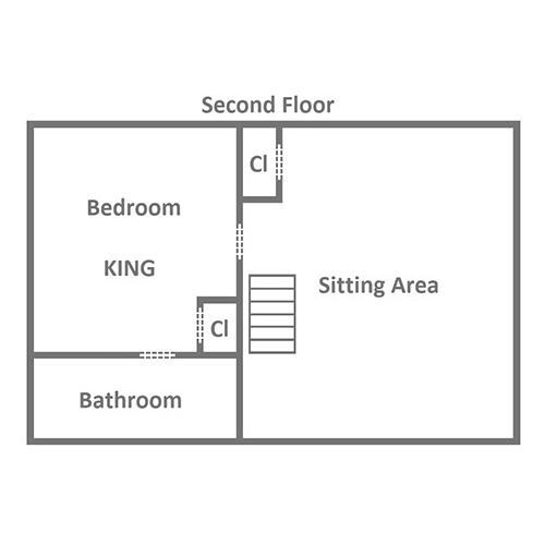Keaton's Wild Animal Cabin - Second Floor