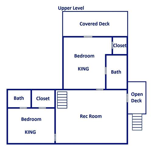 LeConte Bear Lodge - Second Floor