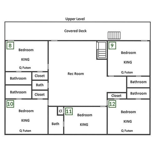 Majestic Lodge - Second Floor
