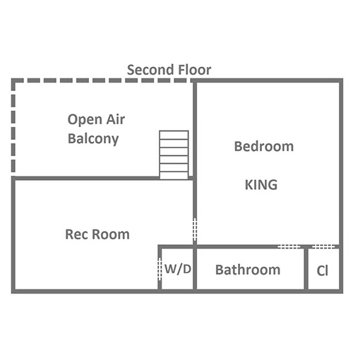 My Runaway Wagon Retreat - Second Floor