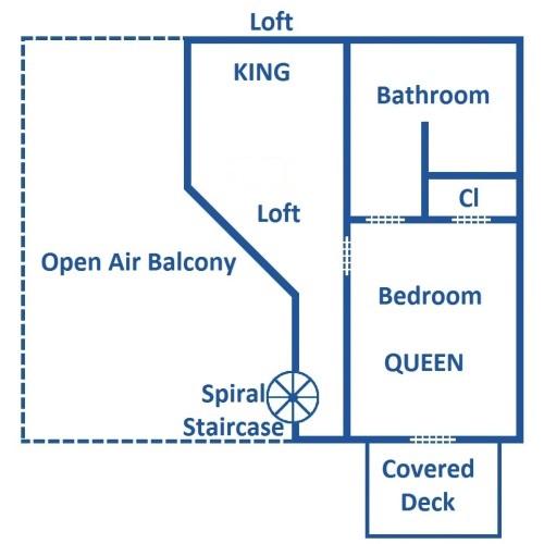 Our Mountain Home - Loft