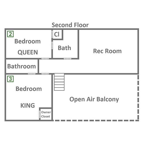 Owlpine Lodge - Second Floor