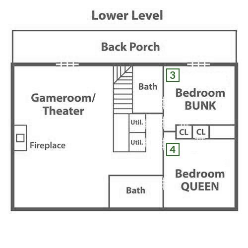 Papa Bear Lodge - Lower Level