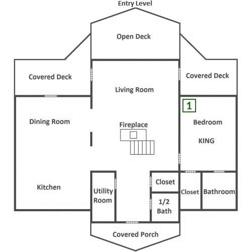 Pinnacle Vista Lodge - Entry Level