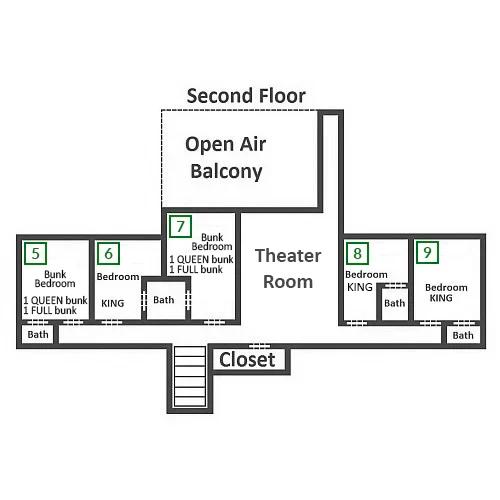 Plimpton Lodge - Second Floor