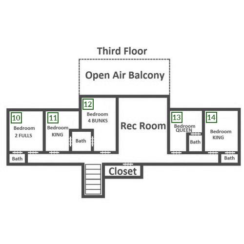 Plimpton Lodge - Third Floor