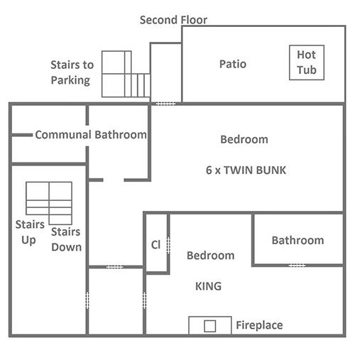 Red Oak Lodge - Second Floor