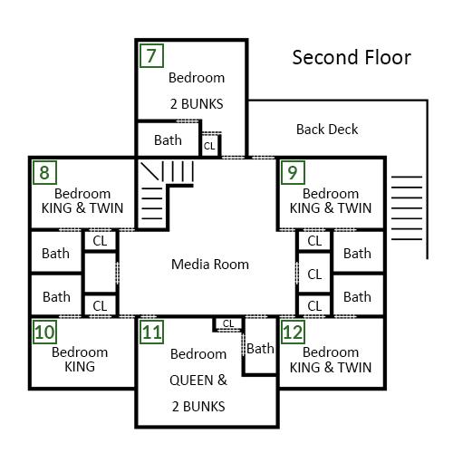 Scenic Solitude Retreat - Second Floor