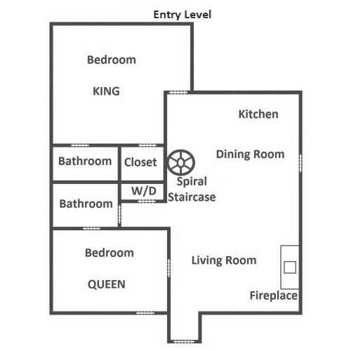 Simone's Cottage - Entry Level