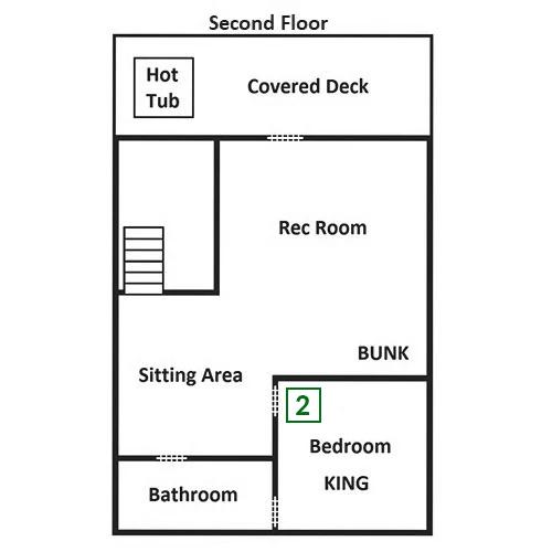 Smoky Mountain Escape - Second Floor