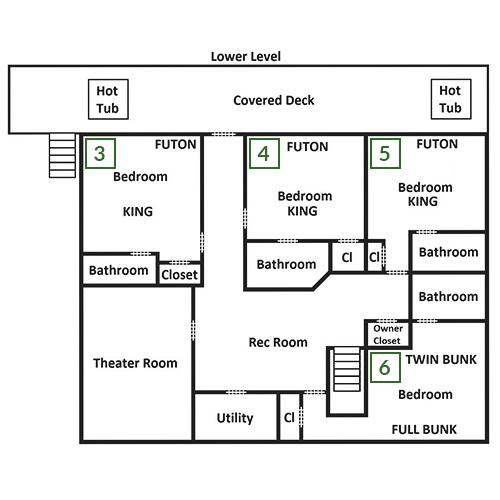 Smoky Mountain Manor - Lower Level