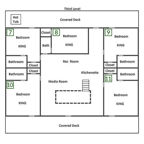 Splash Mansion - Third Floor
