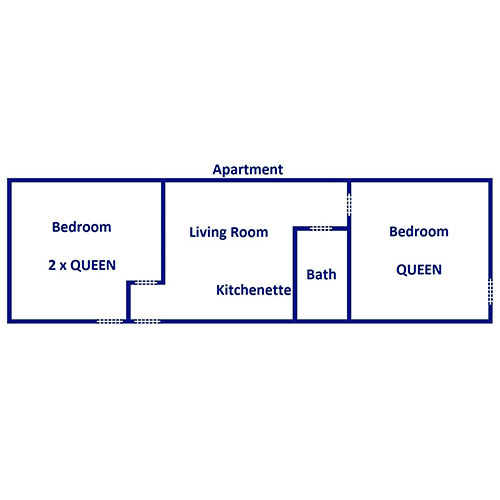 The Smoky Mountain Lodge - Apartment