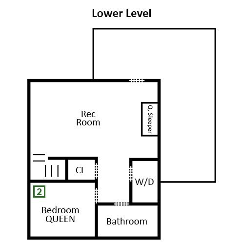 Pigeon Forge - Three Bears Lodge - Lower Level