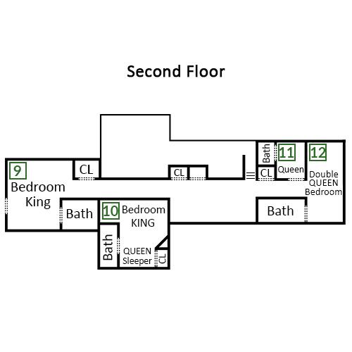 Von Bryan Estate - Second Floor