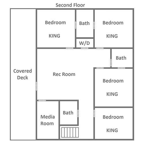 Wild Bear Lodge - Second Floor