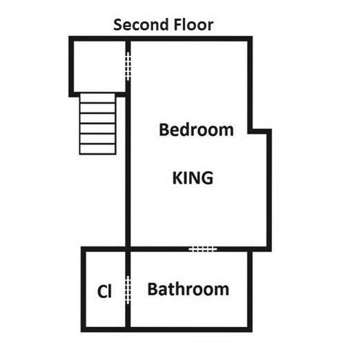 Windswept Retreat - Second Floor