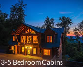 3-5 Bedroom Cabins Gatlinburg
