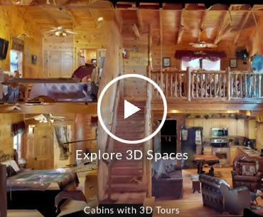 3D Virtual Tour Cabins in Gatlinburg
