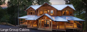 Large Group Cabins Gatlinburg