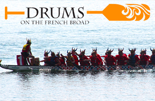 Drums on the French Broad — Dragon Boat Festival